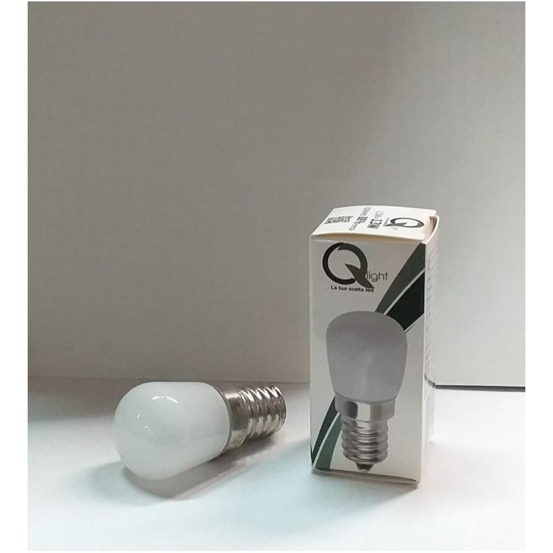 LAMPADINA LED PER FRIGO E14 1,5W LUCE BIANCA PURA