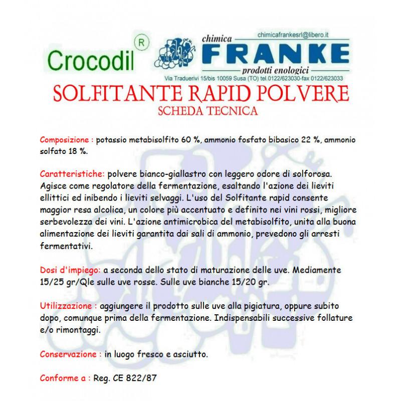 SOLFITANTE RAPID POLVERE GR.200