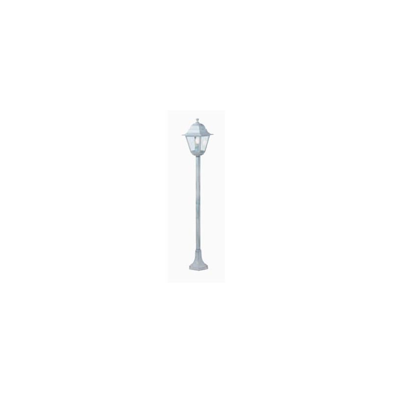 LAMPIONE H121 OLD 60W BIANCO /ARGENTO