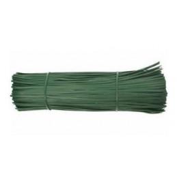 Legaccio piattina verde plastificata cm.12 pz.1000