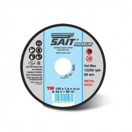 Mole disco da taglio Sait premium TM 115x1.6x22.23 A46