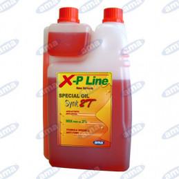 OLIO 2T 1L XP-LINE. 3 PEZZI